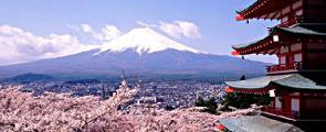 Fuji-san im Frühling